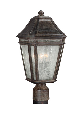 Feiss - Three - Light Outdoor Post - OL11307WCT