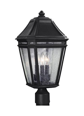 Feiss - Three - Light Outdoor Post - OL11308BK