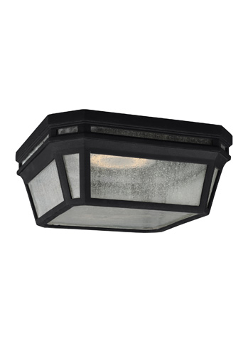 Feiss - Two - Light Outdoor Flush - OL11313BK