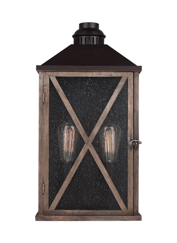 Feiss - Two - Light Outdoor Wall Sconce - OL17004DWO/ORB