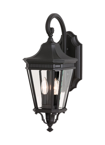 Feiss - Two - Light Wall Lantern - OL5401BK