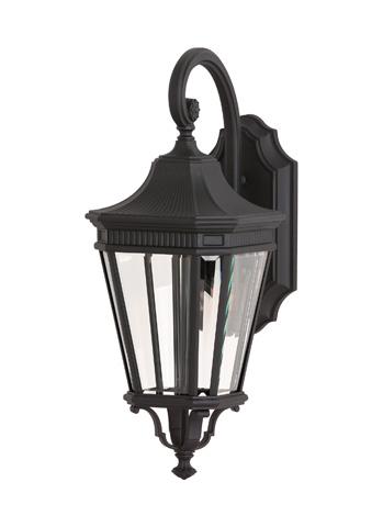 Feiss - One - Light LED Wall Lantern - OL5401BK-LED
