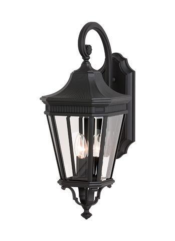 Feiss - Three - Light Wall Lantern - OL5402BK