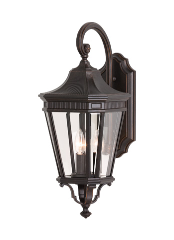 Feiss - Three - Light Wall Lantern - OL5402GBZ