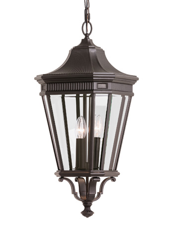 Feiss - Three - Light Outdoor Pendant - OL5412GBZ