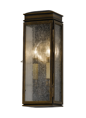 Image of Three - Light Wall Lantern