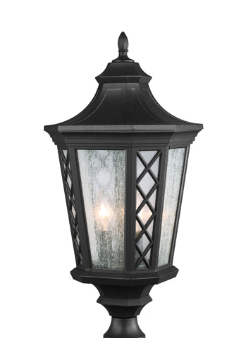 Feiss - Three - Light Outdoor Lantern - OL9508TXB