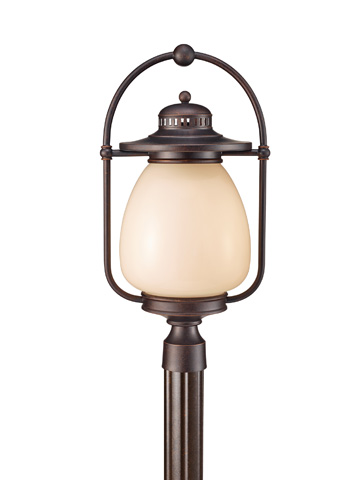 Feiss - One - Light Outdoor Lantern - OLPL7508GBZ