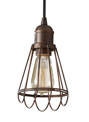 Feiss - One-Light Mini Pendant - P1247PRZ