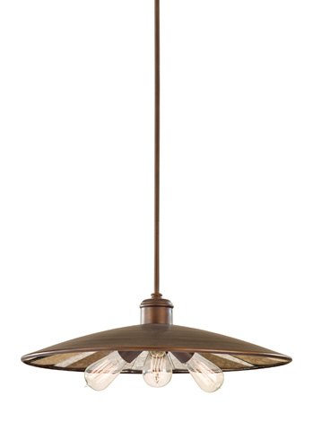 Feiss - One - Light Urban Renewal Pendant - P1281ASTB