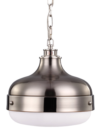 Feiss - Two - Light Pendant - P1283PN/BS
