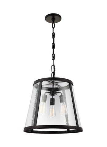 Feiss - Three - Light Harrow Pendant - P1288ORB