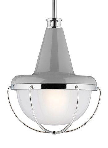 Feiss - One - Light Mini Pendant - P1306HGG/PN