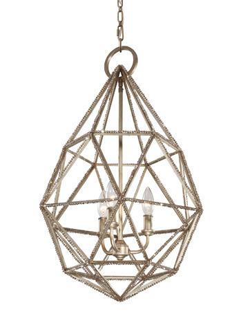 Feiss - Three - Light Marquise Pendant - P1312BUS