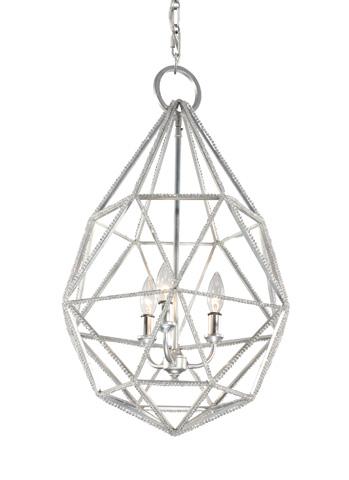 Feiss - Three - Light Marquise Pendant - P1312SLV