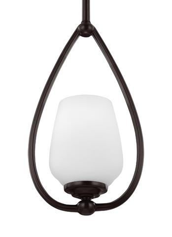 Feiss - One - Light Mini-Pendant Heritage Bronze - P1329HTBZ