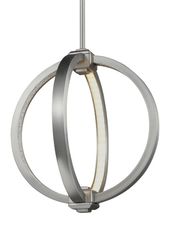 Feiss - Globe Pendant - P1391SN