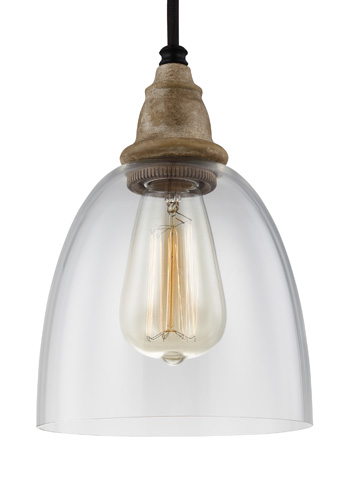 Feiss - One - Light Mini-Pendant - P1394DFW/DWZ