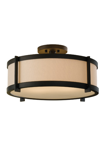 Feiss - Two - Light Indoor Semi-Flush Mount - SF272ORB