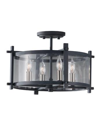 Feiss - Four - Light Indoor Semi-Flush Mount - SF292AF/BS