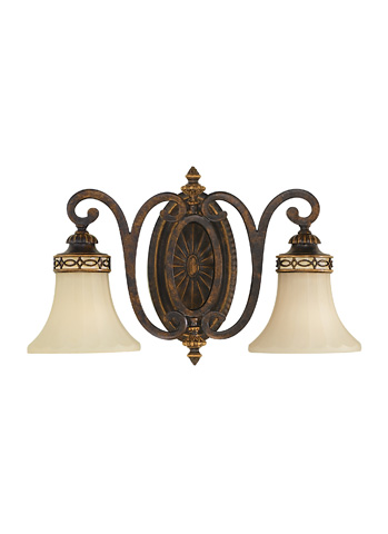 Feiss - Two - Light Vanity Fixture - VS11202-WAL