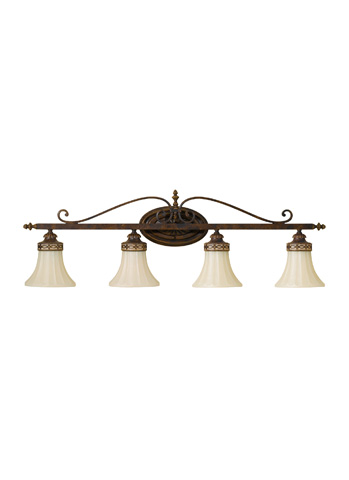 Feiss - Four - Light Vanity Fixture - VS12504-WAL