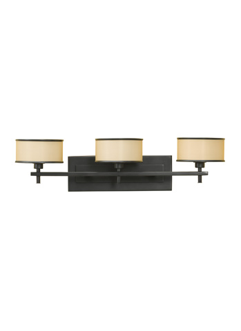 Feiss - Three - Light Vanity Fixture - VS13703-DBZ