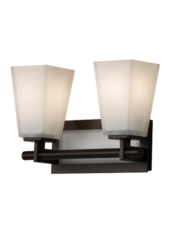 Feiss - Two - Light Vanity Fixture - VS16602-ORB