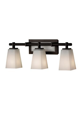 Feiss - Three - Light Vanity Fixture - VS16603-ORB