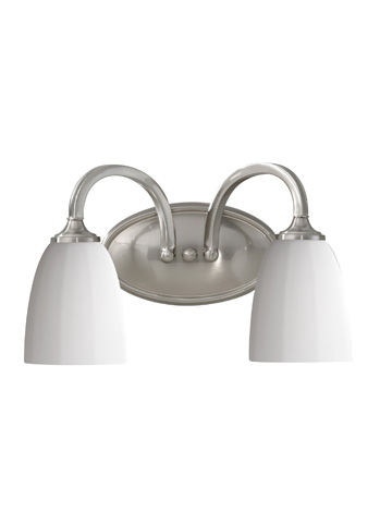 Feiss - Two - Light Vanity Fixture - VS17402-BS