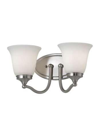 Feiss - Two - Light Vanity Fixture - VS18502-BS