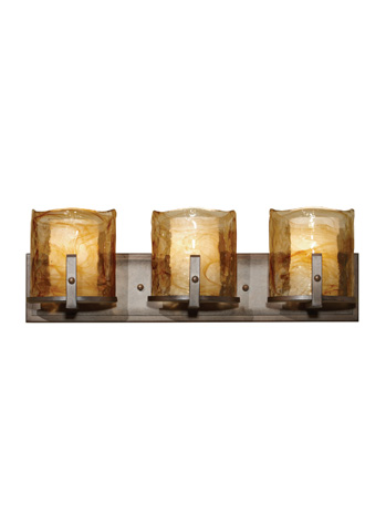 Feiss - Three - Light Vanity Fixture - VS18903-RBZ