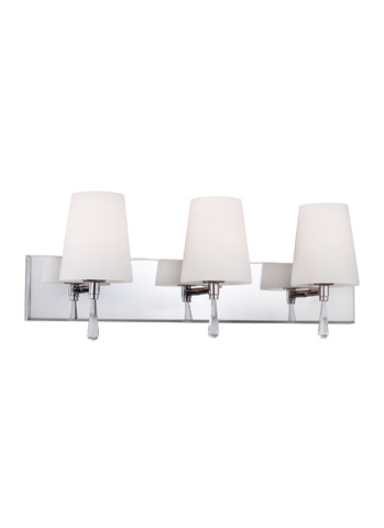 Feiss - Three - Light Vanity Strip - VS53003-SN
