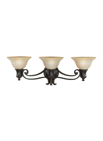 Feiss - Three - Light Vanity Fixture - VS9203-LBR