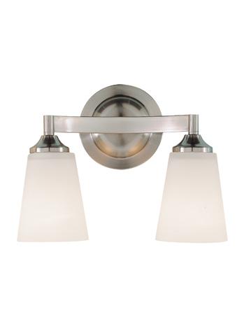 Feiss - Two - Light Vanity Fixture - VS9402-BS