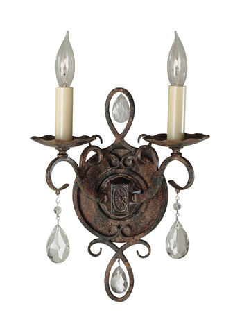 Feiss - Two - Light Sconce - WB1227MBZ