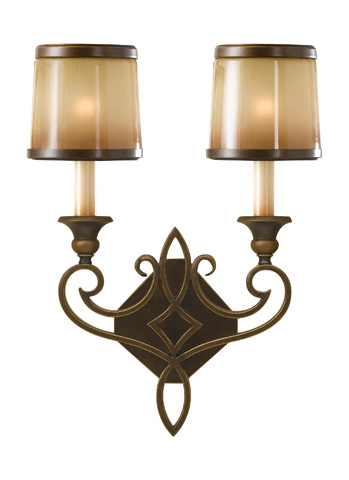 Feiss - Two - Light Sconce - WB1473ASTB