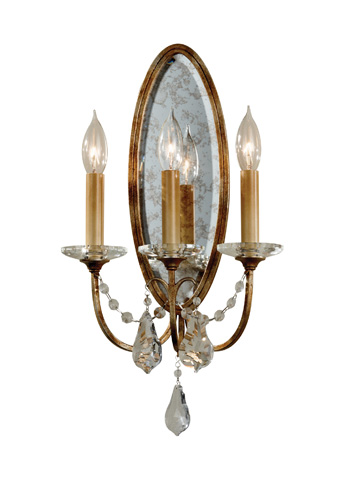 Feiss - Three - Light Sconce - WB1543OBZ