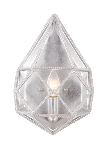 Feiss - One - Light Marquise Wall Sconce - WB1734SLV