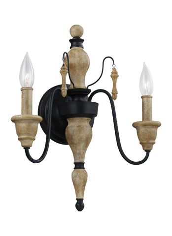 Feiss - Two - Light Sconce - WB1745DFW/DWZ