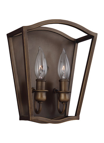 Feiss - Two - Light Sconce - WB1746PAGB