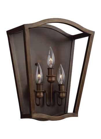 Feiss - Three - Light Sconce - WB1757PAGB