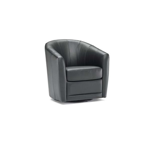 Natuzzi Editions - Swivel Chair - B596066