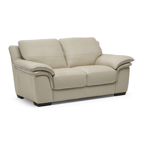 Natuzzi Editions - Leather Loveseat - B953005