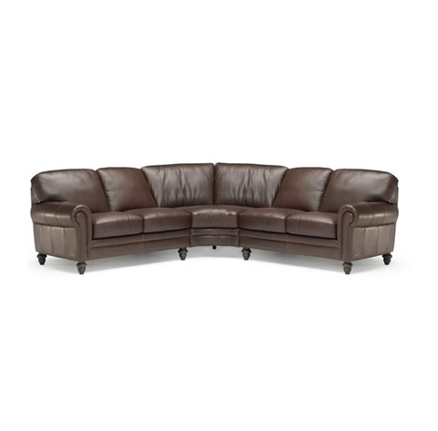 Natuzzi Editions - Leather Sectional - A855SECT