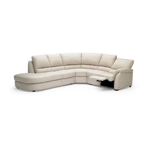 Natuzzi Editions - Leather Reclining Sectional - B693SECT