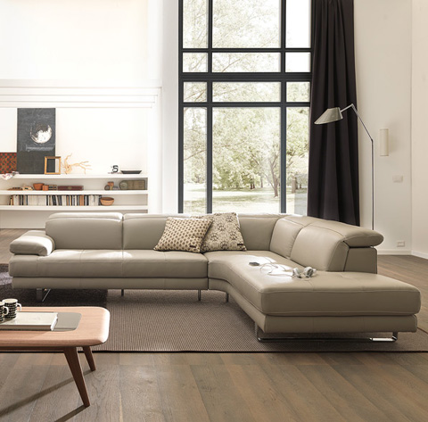 Natuzzi Editions - Sectional - B878SECT