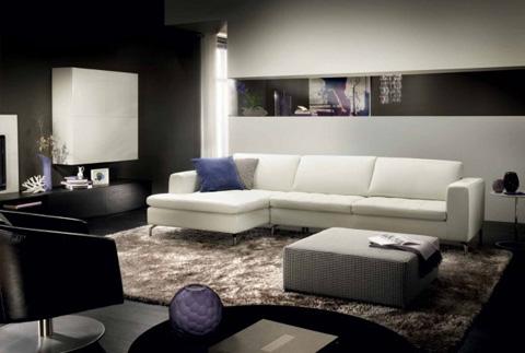 Natuzzi Italia - Savoy Sectional - 2458200/2458019