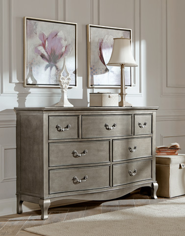 Image of Seven Drawer Double Dresser