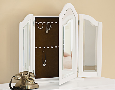 Image of Vanity Storage Mirror